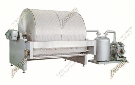 Vacuum Filter Starch Dehydrator Machine